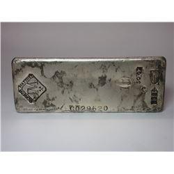Marked Johnson Matthew 50 Oz Silver Bar- Marked JM Ltd Canada Assay Office .999- #Co29620