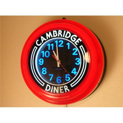 COOL RETRO NEON /FLOURESCENT CAMBRIDGE DINER #1121990