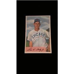 1954 Bowman Dee Fondy