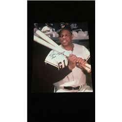 Willie Mays Autograph 8x10 Photo W/COA