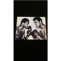 Muhammad Ali Joe Frazier Autograph 8x10 Photo W/COA