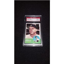 1963 Topps Mickey Mantle GEM MINT 10 Reprint