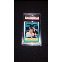 1959 Topps Mickey Mantle GEM MINT 10 Reprint
