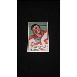 1952 Bowman Small Fred Williams