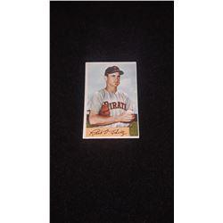 1954 Bowman Bob Schultz