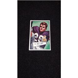 1952 Bowman Small Yale Lary Rookie Card