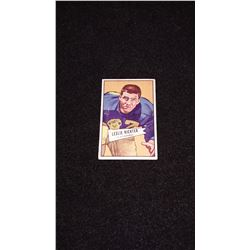 1952 Bowman Small Leslie Richter Rookie Card