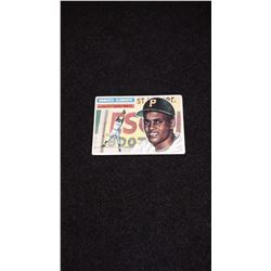 1956 Topps Roberto Clemente 2nd Year Card