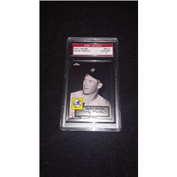 2007 Topps Chrome Mickey Mantle GEM MINT 10 Reprint