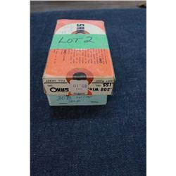 Factory Ammunition - 1 box of 7.62 Nato (308 Win) and 1 Box of (Sako) 308 Win