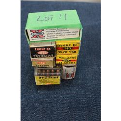 Factory Ammunition - 7 boxes of 22 Short