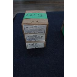 Factory Ammunition - 3 boxes of 7.7mm Military