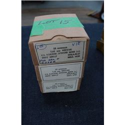 Factory Ammunition - 3 boxes of 7.62mm Metak