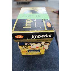 Factory Ammunition - 4 boxes of 303 British