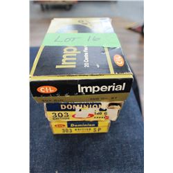 Factory Ammunition - 4 boxes of 303 British