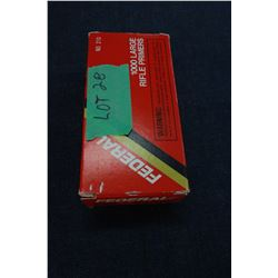 Box of Federal Large Rifle Primers