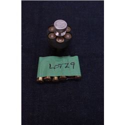 Speed Loader for 44 Rem. Mag. With 12 Live Rounds