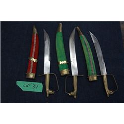 Three Knives - Made in India