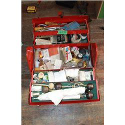 Proto Tool Box with Numerous items for Black Powder Shooters