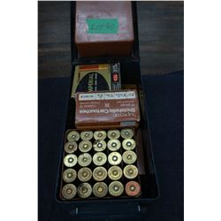 Blue Ammunition Box with 2 Boxes of 20 ga. & 5 Boxes of 12 ga.