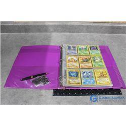 "1"" Binder of Pokemon Cards"