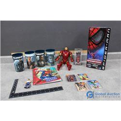 Superhero Collectibles - Ironman, Spiderman, Wolverine, etc