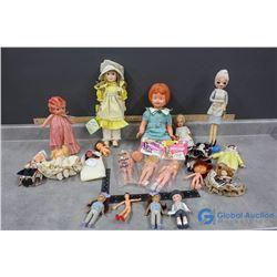 Various Dolls - 1920's, Effanbee, etc