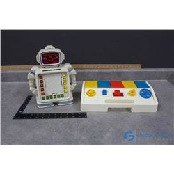 Vintage Kids Toys - Alphie II Robot