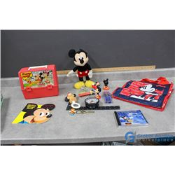 Mickey Mouse Collectables - Lunch Box, Toys, CD, etc