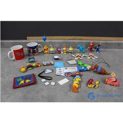 Vintage Collectable Toys and Mugs