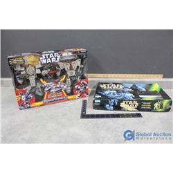 Star Wars Transformer Toy and Board Game with Boxes