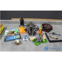 Assorted Star Wars Toys & Collectibles