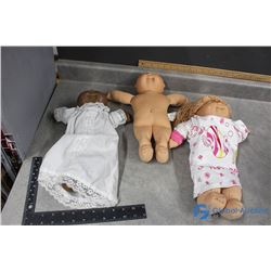 (3) Cabbage Patch Dolls