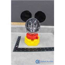 1968 Plastic Disney's Mickey Mouse Gumball Dispenser