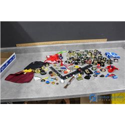 Assorted Toy Wrestlers Accessories