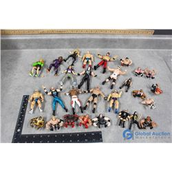 1997, 1999 and Newer Toy Wrestlers