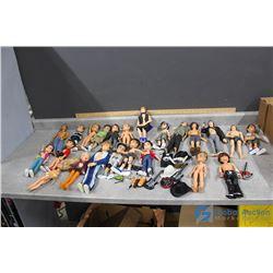 Assorted Dolls and Accessories - Bratz, Barbie, etc
