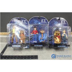 (3) Vintage E.T Toys in Box - BID PRICE X3