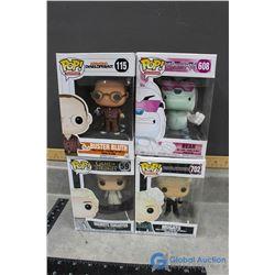 (4) POP! In Box Vinyl Figures- Mugatu, Daenerys Targaryen, Bear and Buster Bluth