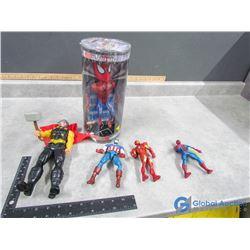 Super Hero Toys - Thor, Capt America, Ironman, Spiderman, etc