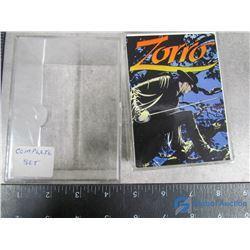 Zorro 1998 Collector Card Complete Set