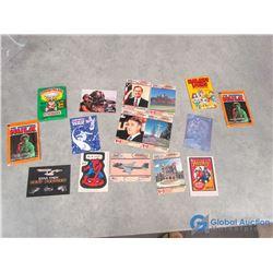 Vintage Collectables - 1979 Hulk Cards in Package, Garbage Pail Kids Pack,etc
