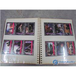 Terminator 2 Movie Collector Cards in Album