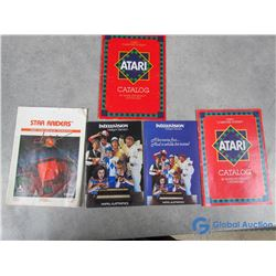 Atari Game System & Intellivision Booklets