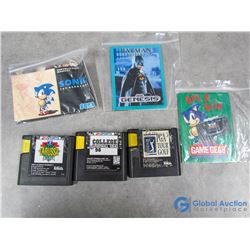 Sega Games and Sonic Booklets