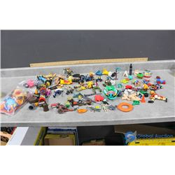 Misc Toys - Wrestlers, Sesame Street, Spiderman, etc