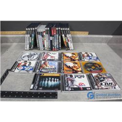 PS and PS2 Games - NBA, NHL, Maden, UFC, etc