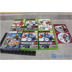 XBox and XBox360 Games - NBA, Madden, etc