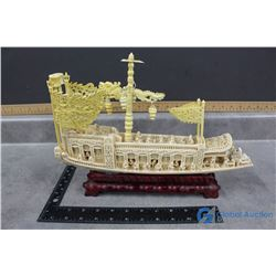 Detailed Oriental Ship Decor
