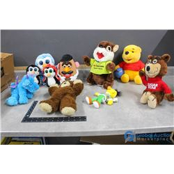 Misc Stuffies - Pooh Bear, Sesame Street, Mr. Potato Head, etc